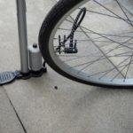 自転車の空気の正しい入れ方をママチャリを例にしながら教えます。